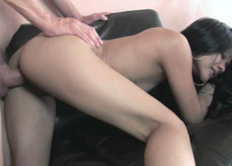 Asian Krystal gets her pussy pounded