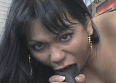 Asian cutie Kyanna takes some black dick
